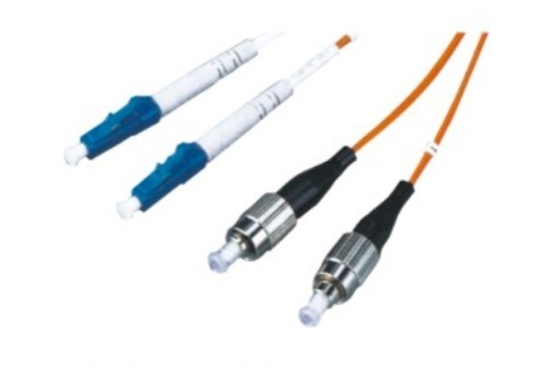 LC - FC Optical Fiber Patch Cord Simplex / Duplex For Local Area Network