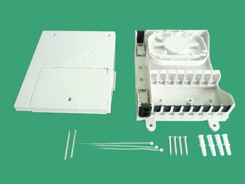 8 Port Wall Mounted Distribution Box 8 Core Waterproof For Local Area Network